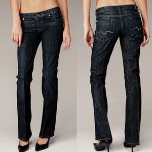 7 FOR ALL MANKIND Organic Cotton Boot Cut Jeans